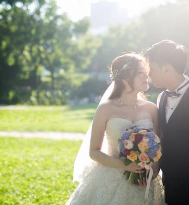 Nikki & Manus Wedding Day