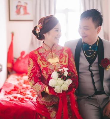Akina & William Wedding Day
