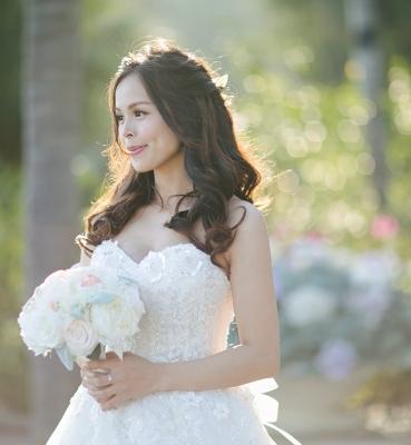 Yola & West Wedding Day